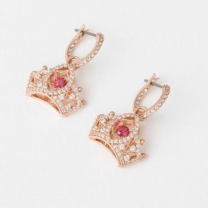 SWAROVSKI  QUEEN Crown earrings